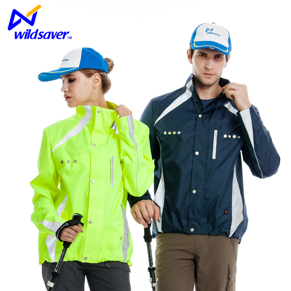 Custom whosale led lighted team outer sports jackets