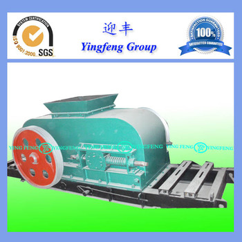 For brick production, Maganese Double roller crusher, soil crusher