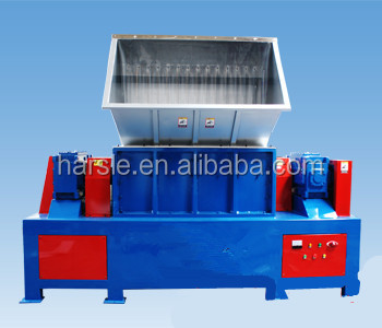 Harsle Brand double shaft plastic shredder machine/Waste Plastic Crusher Used to recycle Waste Plastic Pipes
