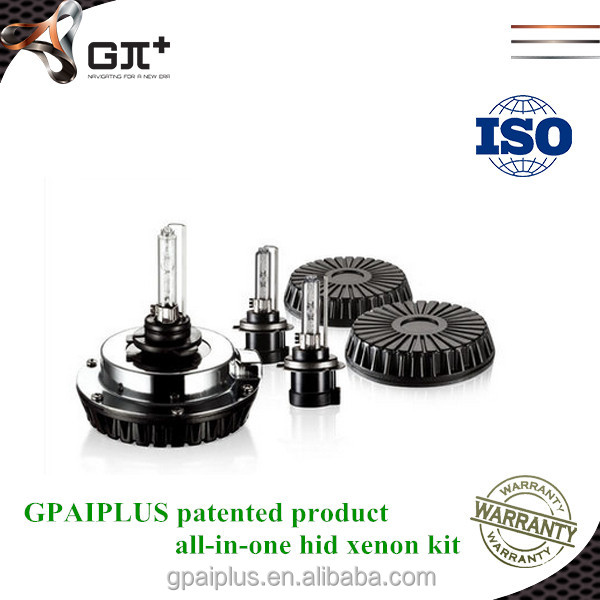 hot sale! GPAIPLUS high quality water proof all-in-one 100 watt hid offroad light h7