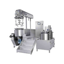 Body Cream Making Machine with Mixer and Homogenizer