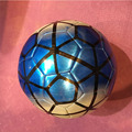 Colorful Plastic Shiny Laser Matte Metallic Soccer Ball