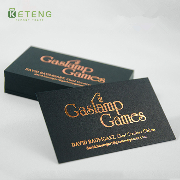 Double sided gold foil printed thick matt black card business cards q how can i get the price reheart Gallery