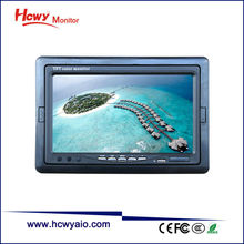 9 inch Widescreen Car Monitor/HDMI Car Monitor/2AV Car Rearview Mirror Monitor