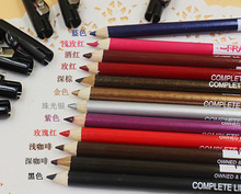 Cosmetics wholesale with eyeliner Eyeshadow eyeliner pencil sharpener glue with high light eyebrow strokes of silkworm