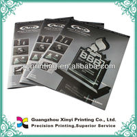 cheap oem saddle stitching customized softcover book