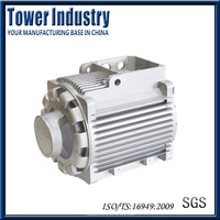 Aluminum Die Casting Auto Parts High Cost-effective Motor Shell with OEM and ODM