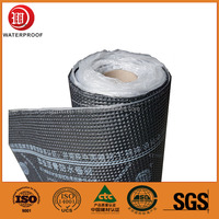 4mm Self-Adhesive APP Bitumen Waterproof Membrane for Roof and Wall