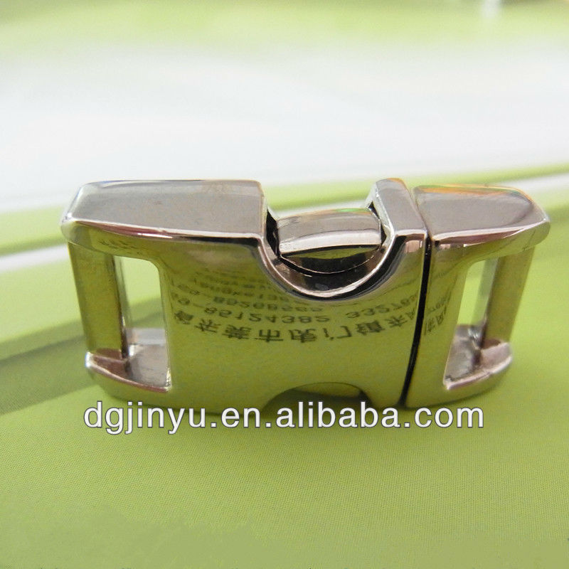 metal buckle for nylon webbing straps