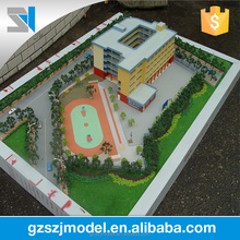 Bidding project building model handmade for school ,building model making for display