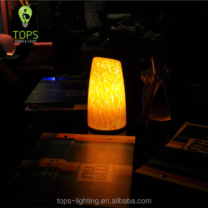 China Factory Direct Hand Made led lamp with battery
