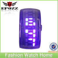 New fashion waterproof sport silicone led digital sports watch