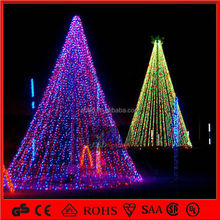 Shopping mall Project lighted multicolor led christmas ball tree lights