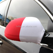 Hot Sale OEM High Quality Decorate Car Wing Mirror Flag Cover Socks For World Cup