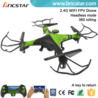 Model toys 2.4G 6AXIS FPV RC flying Quadcopter/drone/ufo/saucer, rc / smart drone model