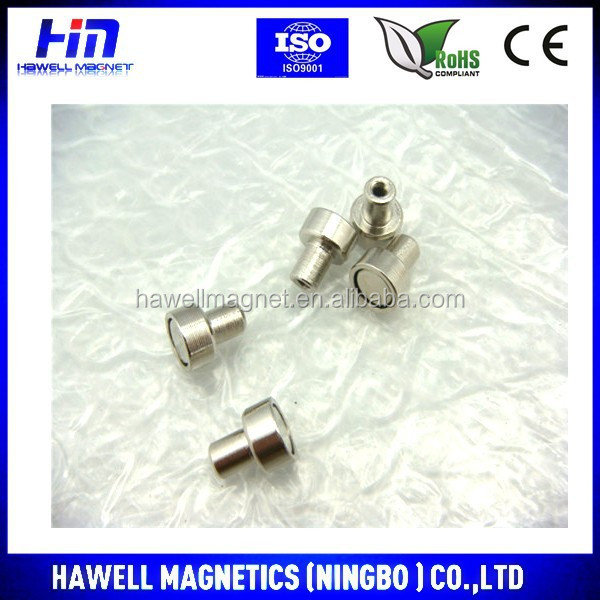 neodymium pot magnet, manetic holding magnet high pull force