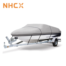 Marine Grade 600D Polyester Canvas Trailerable lightweight boat cover waterproof