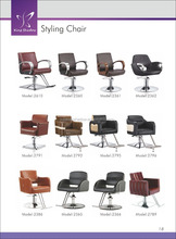 kingshadow high quality leather banquet chair hairsalon barber chair catalog in Guangzhou