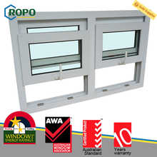 PVC push up single hung window