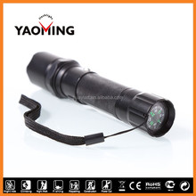 Stylish design led flash light quality outdoor equipments, police and swat torches