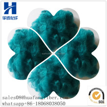 HF Factory Produce Dope Dyed Recycled Chemical Fiber