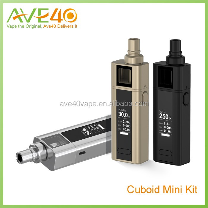 In stock!!!2016 best selling wholesale original Joyetech Cuboid Mini 80W TC Kit with NotchCoil with cuboid silicone case