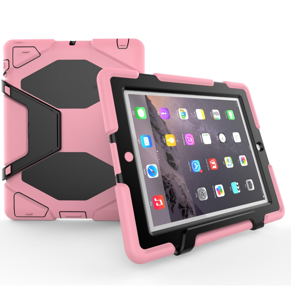 Silicone+PC Strong Shockproof Case Combo Rugged Cover For iPad 2 3 4 Case
