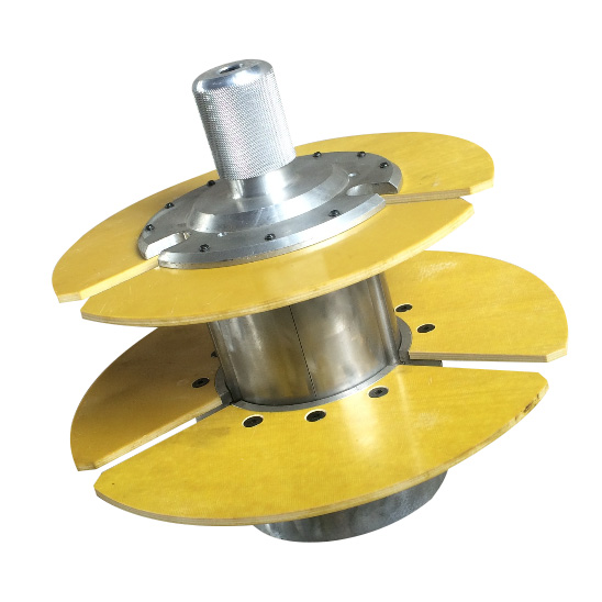 cable wire spool for winding a hollow coil/bobbin /wire drum