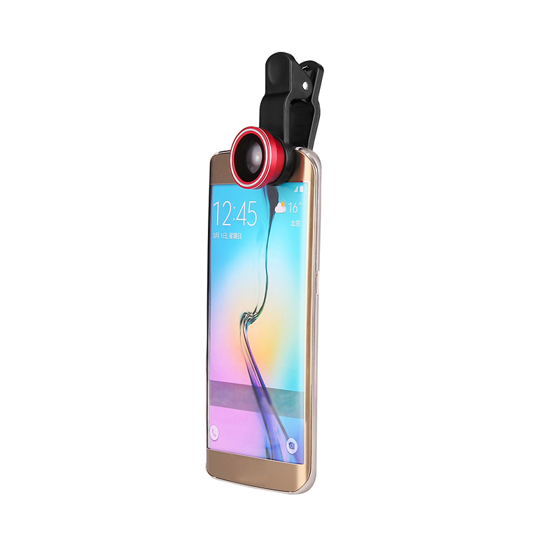4 in 1 camera phone universal great quality mobile phone clip lens