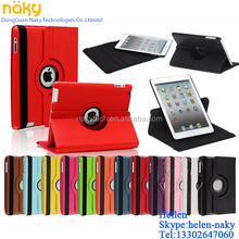 For Apple iPad air 360 Rotating Litchi Grain Design PU Leather Case Smart Cover Stand