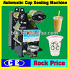 Maual or Semi automatic Plastic Cup Sealer Machine,Tabletop Small Size Cheap Price Plastic Yogurt Cup Sealing Machine