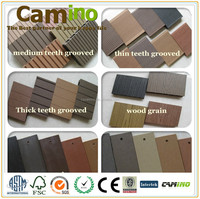 outdoor park hard plastic wpc floor covering