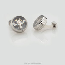 Personalized movement cufflink for men