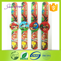 Free wrist watch high quailty and cheap price of kids slap watch