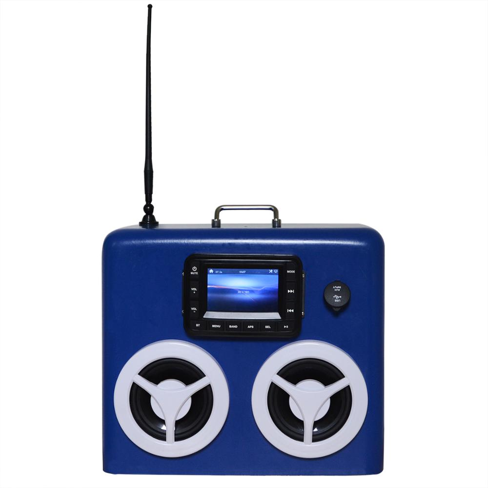factory cheap price fishing-boat ammo can stereos with bluetooth music