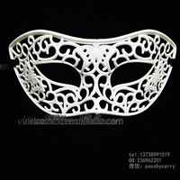 WHM-0102 Yiwu CaddySimple Design Masquerade Party Mask wholesale Cheap Purple Party Mask Magnetic Pearl Face Mask
