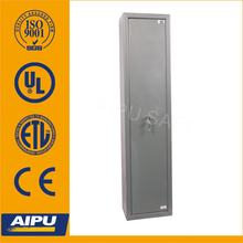 key lock gun safe 5 gun locker NFG5713K-1703 with double bited key lock/gun safe/safe for gun/gun safe wholesale
