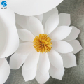 Wholesale popular white Wedding large maroon paper flower for sale