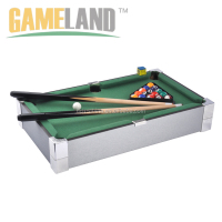 Portable mini pool table with black polyester surface , mini snooker table, mini billiard table
