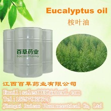 Factory Wholesale GMP certified Organic Eucalyptus Oil with 70%-80% eucalyptol