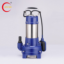 Chinese manufacturer high pressure multi stage submersible pumps water pump motor price list