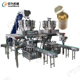 Automatic Machine Fruit Canned Production Line for tomato, banana, mango, kiwifruit, strawberry, peach, apricot red bayberry