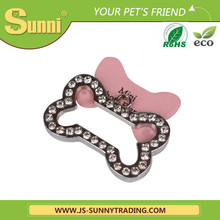 slide-on collar qr code pet tag