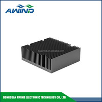 single head aluminum extrusion heat sink sections for cutting machine