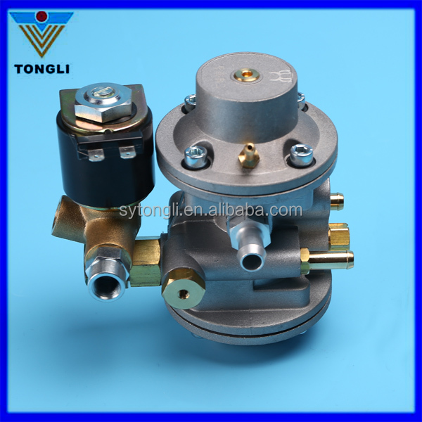cng pressure reducer/regulator for cng sequential injection kit