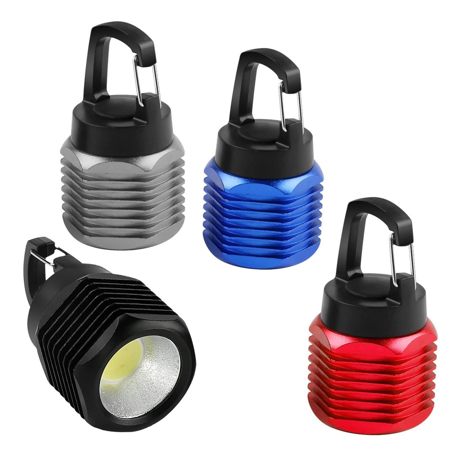 YARRAE 2018  Ultra Bright  Aluminium Alloy Pocket  Mini COB Keychain Flashlight