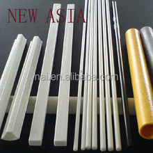 fiberglass transparent fishing rod