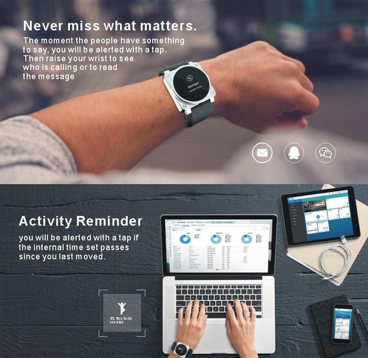 2017 promotive presente corporativo smaret wearable pulseira de cuidados de saúde melhor China o artigo do presente