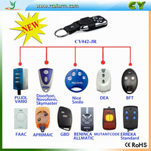 Hot ITEM YET 12 garage door brands 433mhz rolling code wireless remote control CY042-JR
