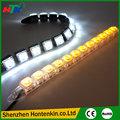 2pcs White 12 LED Long Strip Daytime Running Light DRL Car Fog Day Driving Lamp